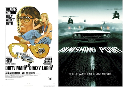 """Dirty Mary, Crazy Larry"" and ""Vanishing Point"""